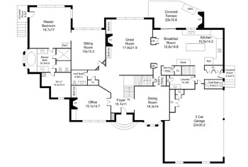 Charlotte real estate marketing services for Floor plans for real estate marketing